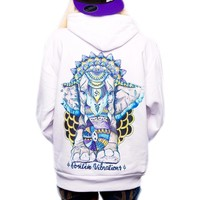 New Positive Vibes Elephant Hoodie