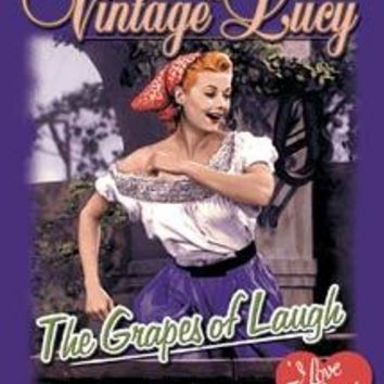 Tin Sign Lucy - Grapes Of Laugh