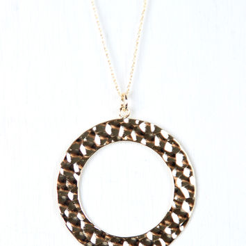 Best Hammered Circle Pendant Necklace Products on Wanelo 756803d0647b