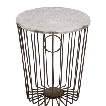 Classy Styled Fascinating Metal Wire Stool