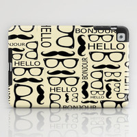 Hello, Bonjour iPad Case by Amy Copp