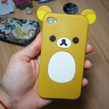 Rilakkuma Silicon Case iPhone 4 /4S