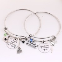 Wicked the Musical Friendship Bangle Set
