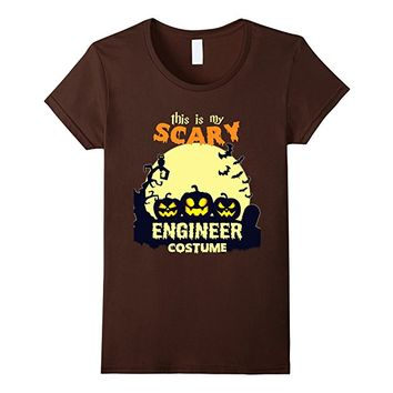 This is my scary Enginner costume T-Shirt