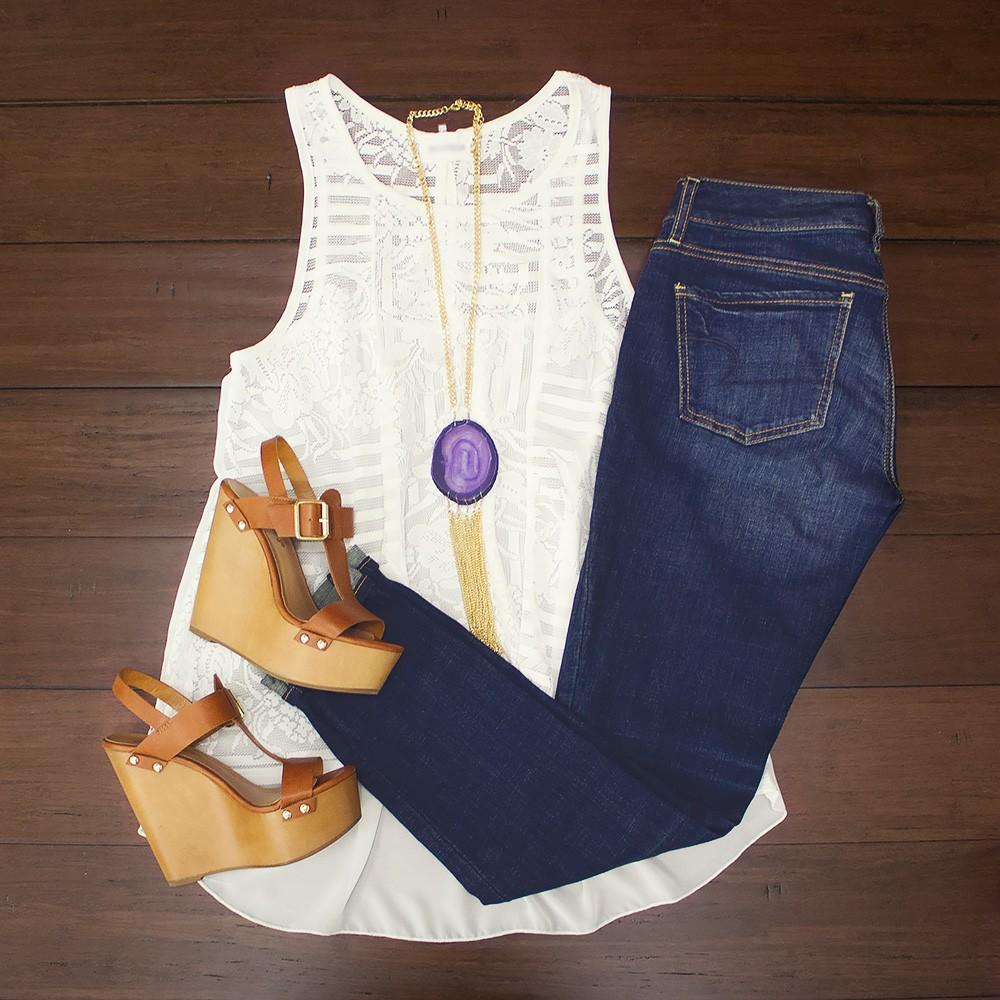 Summer White Tank 31 00 From Modern Ego Style Inspiration