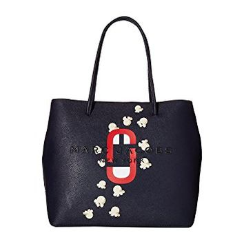 Marc Jacobs Logo Shopper Popcorn Scream East/West Tote