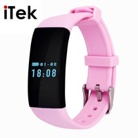 TK04 Bluetooth4.0 Fit Bit Smart Wrist Band Inteligente Bracelet with Heart Rate Monitor for iOS&Android Better than fitbit