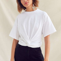Urban Renewal Recycled Twist Front Tee | Urban Outfitters