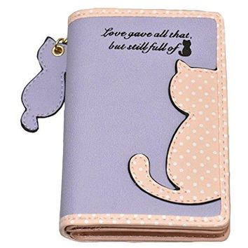 Jadedragon Women Wallet Coin Purse Bifold Wallet Clutch Bag Card Holder for Teen Girls And Women