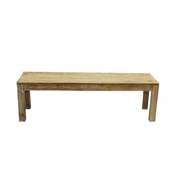 Customary Styled Entryway Bench- Distressed Finish By Urban Port