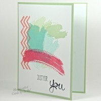 Abstract Art Featured On This Handcrafted Thank You/Any Occasion Card