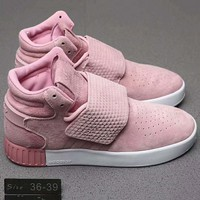 Adidas Tubular Fashion Casual Women Men High Tops Running Sport Casual Shoes Sneakers Pink G-A0-HXYDXPF