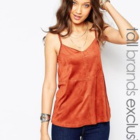 New Look Tall Suedette Cami