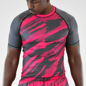 Sleefs BCA Pink Ribbon Tryton Ultra Metal Pink short sleeve jersey