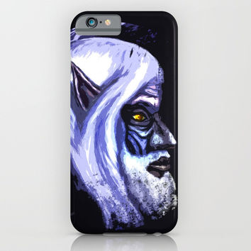 The old elf iPhone & iPod Case by Moonlit Emporium