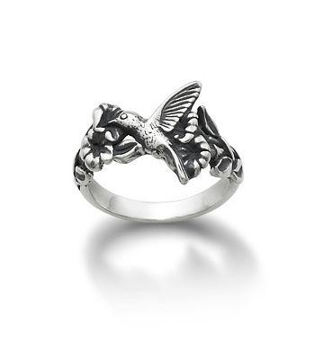 Hummingbird And Flower Ring James Avery From James Avery