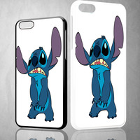 disney stitch body V0920 iPhone 4S 5S 5C 6 6Plus, iPod 4 5, LG G2 G3 Nexus 4 5, Sony Z2 Case