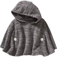 Old Navy Performance Fleece Hooded Poncho For Baby