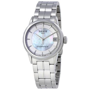 Tissot Luxury Powermatic 80 Ladies Watch T0862071111100
