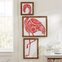 Flamingo Framed Art
