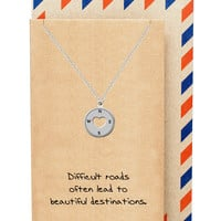 Althea Compass Necklace, Graduation Gifts
