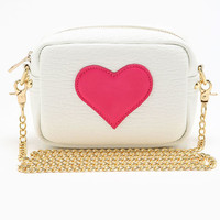 CROSS BODY HEART BAG