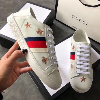 GUCCI Ace sneaker with bees and stars