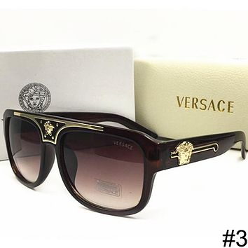 Versace 2018 Men and Women Beach Leisure Polarized Sunglasses F-WMYJ-YF #3