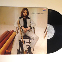 OCTOBER SALE Eric Clapton Self Titled LP Album 1978 Reissue Classic Rock After Midnight Vinyl Record