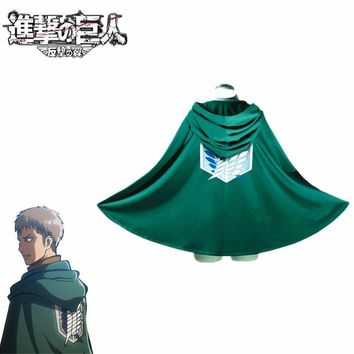Cool Attack on Titan Jean Kirschstein Cosplay  Costume No  Japanese Anime Costume Cosplay Cloak Costume AT_90_11
