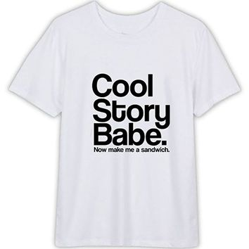 Cool Story Babe T-Shirt for Men