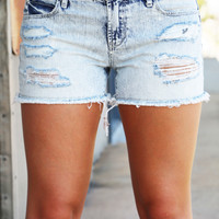 Stewart Distressed Shorties