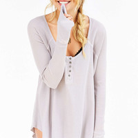 Truly Madly Deeply Myles Thermal Top - Urban Outfitters