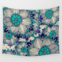 Flower hope Wall Tapestry by Rskinner1122