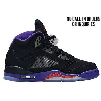 Jordan Retro 5 - Girls' Grade School at Champs Sports