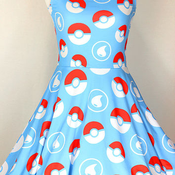 Water Starter Energy Skater Dress - Made to Order