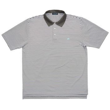 Striped Bermuda Performance Polo by Southern Marsh