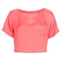 Crop Tee - Tops - Clothing - Topshop USA