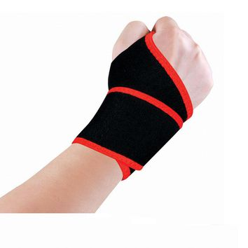 Topsniper Adjustable Sport Wraps Wrist Protective Gear Training Wristband Bracers Safety Support Wrister Bandage