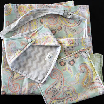 New Mom Reversible Mongrammed Gift Set Bandana Bib Nursing Cover Breastfeeding Apron Bibdana Bandana Bib Dribble Bib Baby Scarf Burp Cloth