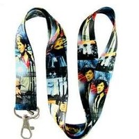 One Direction Lanyard Keychian Holder