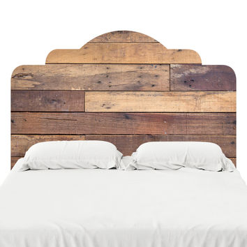 Vintage Siding Headboard Decal