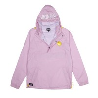 Everything Will Be Ok Anorak Jacket (Pink) | RIPNDIP