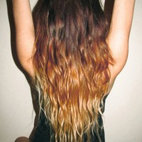 Greater L♔ve — ox-sparkle-xo: OMBRE!!!♥ Hello my future hair!