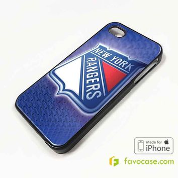 NEW YORK RANGERS Ice Hockey Team NHL iPhone 4/4S 5/5S/SE 5C 6/6S 7 8 Plus X Case Cover