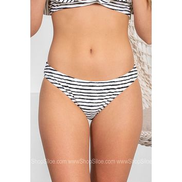 Classic Striped Swimsuit Bottoms