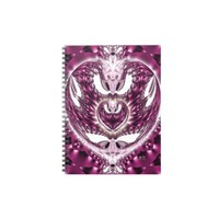 Lavender Love Spiral Notebooks from Zazzle.com