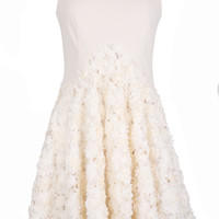 Sleeveless Day Dress With Applique Skirt by A La Russe for Preorder on Moda Operandi