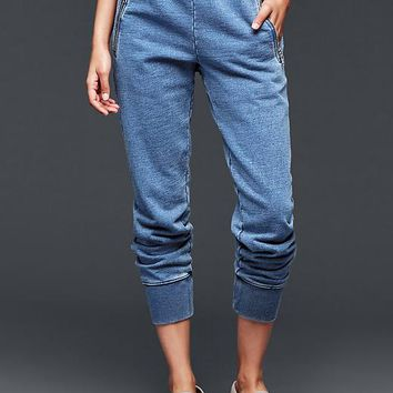 Gap Women French Terry Indigo Jogger