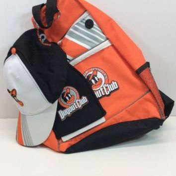 Baltimore Orioles Junior Dugout Club Team Backpack Baseball Tote Bag For School